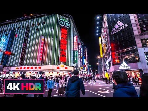 【4K HDR】Night Walk-2021 Taipei Lantern Festival(Postponed due to COVID-19)延期的艋舺台北燈節