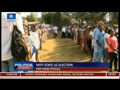 PDP Holds LG Primary Election In Ekiti State |Politics Today|