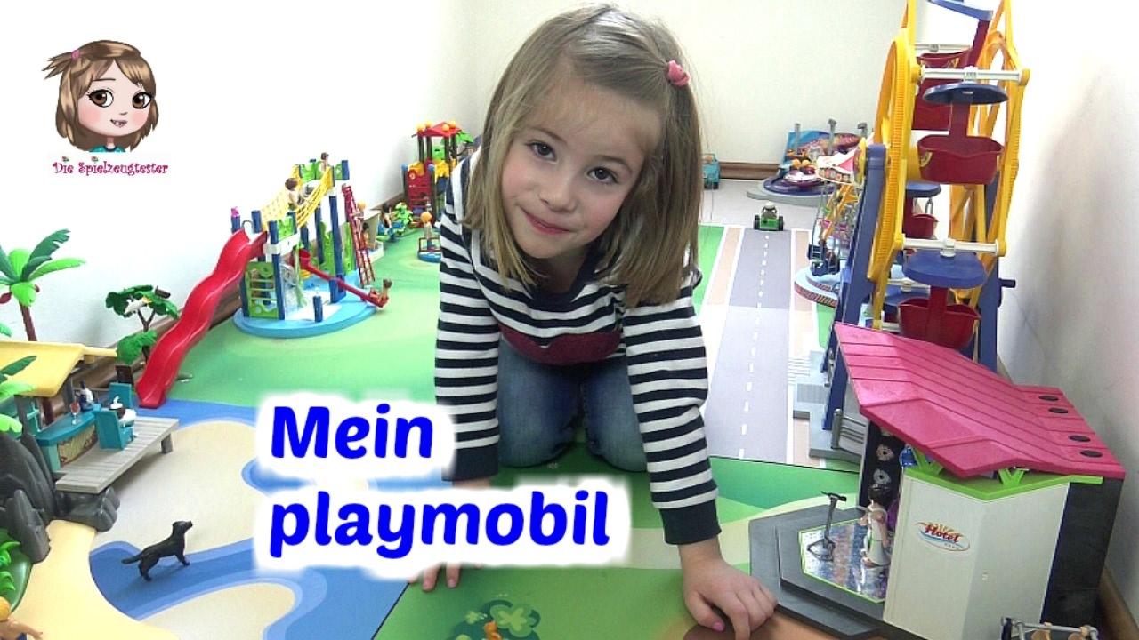 Playmobil Hannah Zeigt Euch Ihre Spielecke Mit Jahrmarkt Freibad