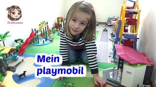 PLAYMOBIL 🎡 Hannah zeigt euch ihre Spielecke mit Jahrmarkt, Freibad, Spielplatz und Insel 🏝