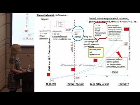 Сафонова О.А. «Дифференциальная диагностика фульминантных гепатитов: вирусных, токсических»