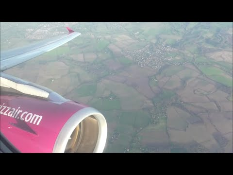 Wizzair Airbus A320-232 | London Luton to Vilnius *Full Flight*