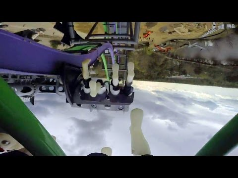 The Joker front seat on-ride HD POV Six Flags Great Adventure