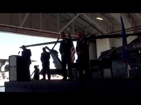 CMSgt David Robinson's retirement ceremony, part 1