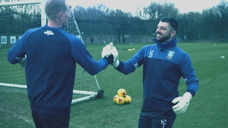 Sky Sports feature: Owls goalkeeper training drills!