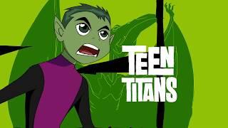 Teen Titans 少年悍將 片頭翻譯