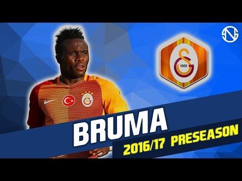 BRUMA | Goals & Skills | Galatasaray | 2016/2017 Pre Season (HD)