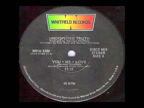 UNDISPUTED TRUTH - YOU + ME = LOVE (SINGLE - 1976)