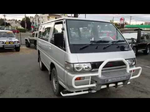 Mitsubishi Delica L300 GLX Wagon 1991 4X4 Gas Engine 4G64 Only 20 000ml