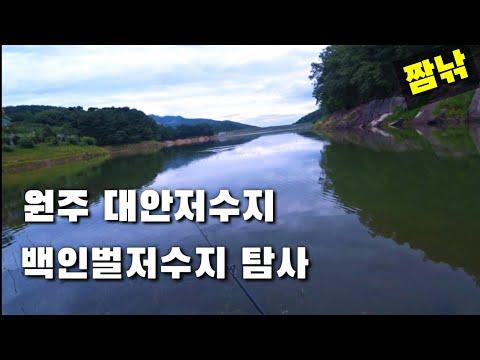 [원주짜치]-강원도권 배스낚시[원주]