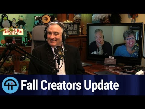 Win10 Fall Creators Update: What's in and What's Out