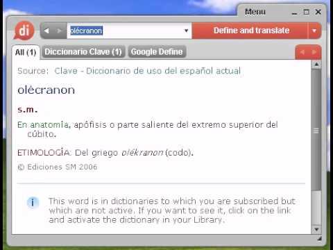 Definición de olécranon - YouTube