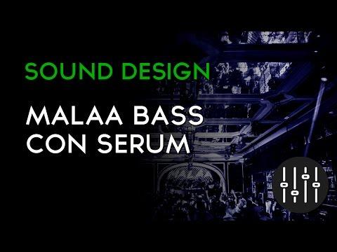 Malaa Bass usando Serum