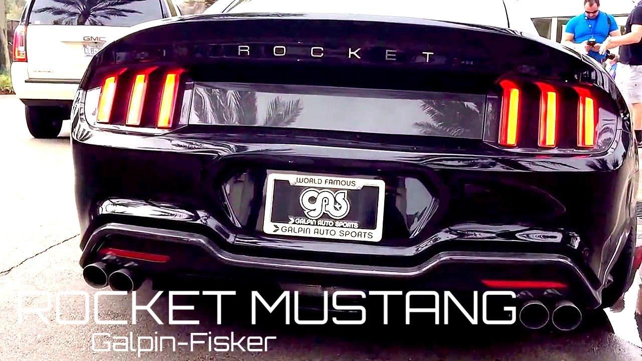 2015 Galpin Fisker Rocket Mustang Walkaround Startup Youtube