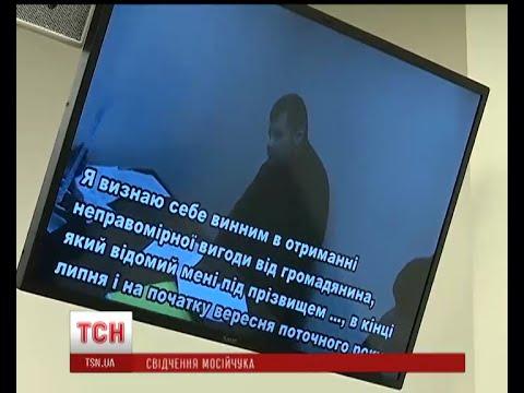 Мосійчук заявляє, що зізнався в отриманні хабаря під тиском