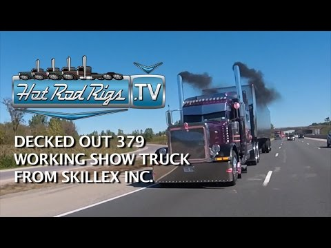 CUSTOM 379 FULLY DECKED OUT AND WORKING DAILY - BUILT BY THE BEST - HOT ROD RIGS TV