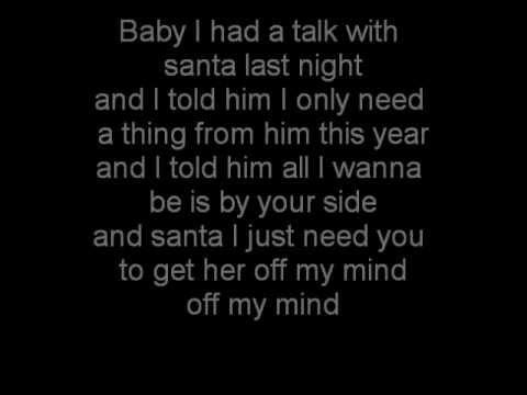 Lloyd - She's All I Want For Christmas [Lyrics On Sreen]