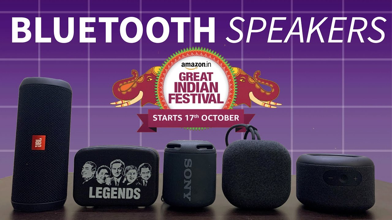 Best Bluetooth Speakers Under 5000 Ft Amazon Great Indian Festival Sale Youtube