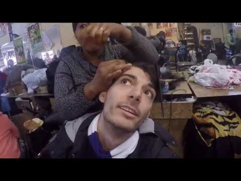 Ice Poseidon and Andy getting cornrows in Harlem [VOD: 15-03-2017]