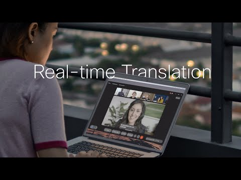 Cisco Webex Innovation Breaks Through Language Barriers with Real-Time Translation for More Inclusive Meeting Experiences