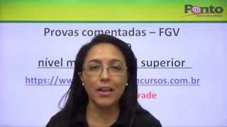 portugus para o dpe ro fgv parte i