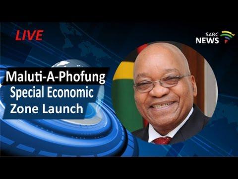 President Zuma launches Maluti-A-Phofung Special Economic Zone, 25 April 2017