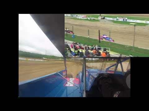 Dayton Brewer Modified Heat Race | Woodhull Raceway 6-2-18