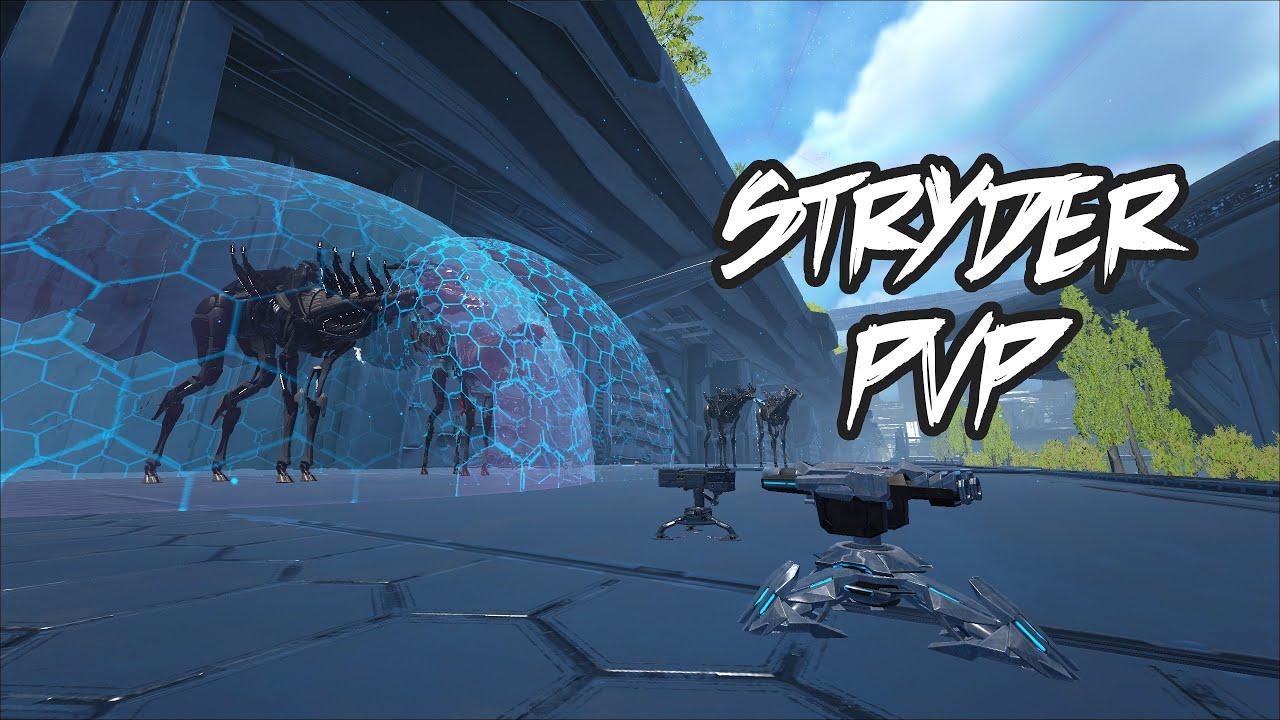Stryder shield PVP explained   Stryder attachments tested!   Genesis 2   ARK Survival Evolved