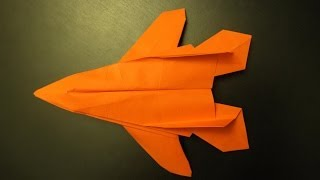 How To Make A F14 Origami Paper Plane: Instruction