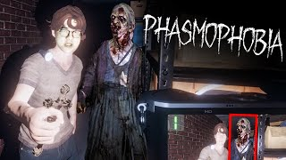 i hate scary games ... | Phasmophobia
