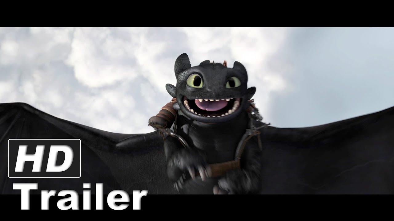 Dragon Toothless Cute Wallpaper Drachenz 228 Hmen Leicht Gemacht 2 Trailer Deutsch German Hd