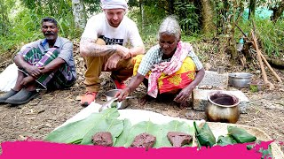 Unseen TRIBAL FOOD in India! Cooking & Eating with Isolated MOUNTAIN TRIBE | Pandikuzhi, India