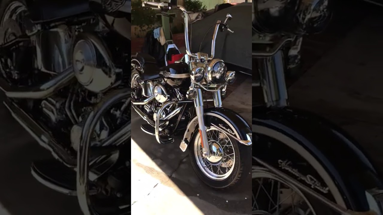 """2003 Heritage Softail 14"""" Carlini Gangster Apes"""