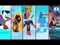 The Strongest Villain Compilation - Teen Titans GO Figure! Teeny Titans 2