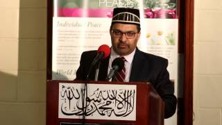 Jalsa Salana Belize 2017: Mubashar Ahmad Vice President AMJ Canada