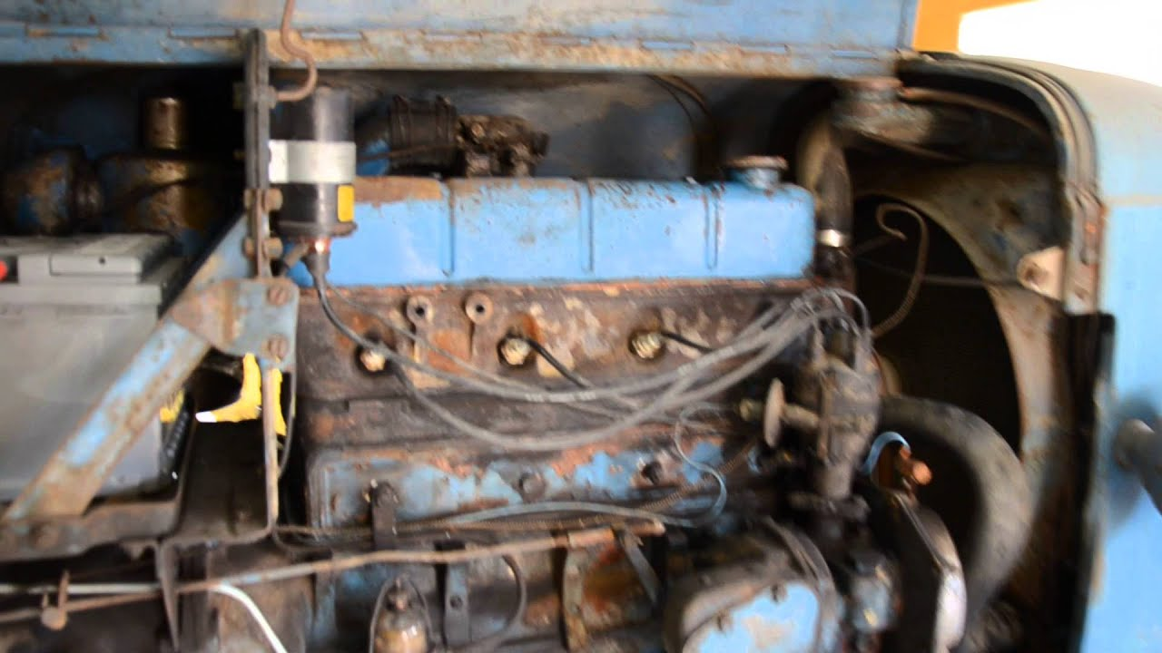 Fordson Tractor Engine Youtube