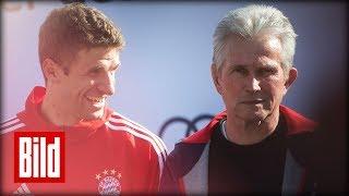 Jupp Heynckes will mehr von Thomas Müller sehen / FC Bayern München