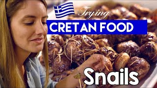 Trying Cretan Food! Chania Food Tour