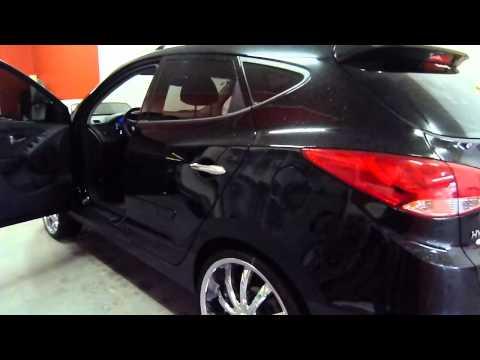 Projeto Hyundai Ix35 Preto Paulinho Bass