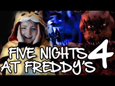 Five Nights at Freddy's 4   HORROR GAME