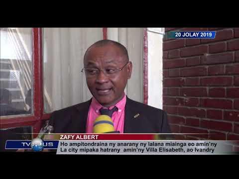 VAOVAO DU 20 JUILLET 2019 BY TV PLUS MADAGASCAR