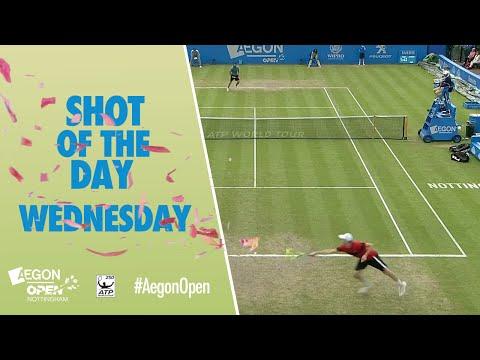 Aegon Open Nottingham Shot of the Day - Wednesday 22nd June