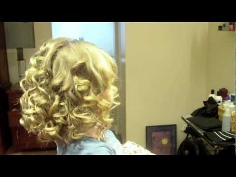 Taylor Swift Inspired Shoulder Length Spiral Curls Hair