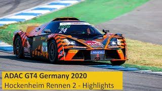 ADAC GT4 Germany   KTM Zum Zweiten   Hockenheimring 2020   Rennen 2 - Die Highlights