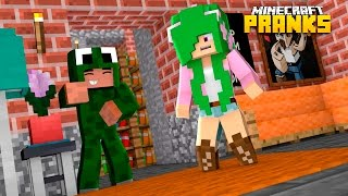 Minecraft Dares - EPIC LITTLE KELLY PRANK!