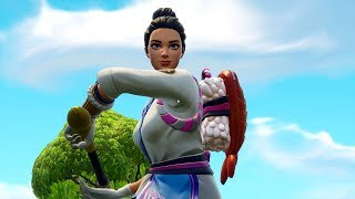 NEW MASTER MAKI SKIN! WOMEN'S SKIN OF THE SUSHI MASTER! (Fortnite Battle Royale)