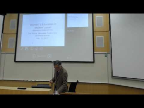 "Masahiro Hamashita ""A Glimpse into Women's Education in Modern Japan"""
