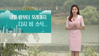 기상캐스터 윤수미의 6월 11일 날씨정보