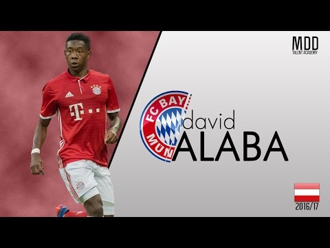David Alaba | Bayern Munich | Goals, Skills, Assists | 2016/17 - HD