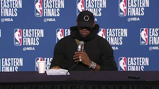 LeBron James Postgame Interview | Celtics vs Cavaliers Game 4